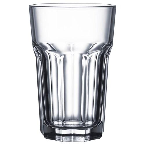 POKAL gelas kaca jernih 14 cm 35 cl 4 unit
