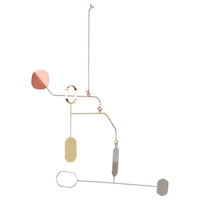 PORJUS Mainan gantung, pelbagai warna