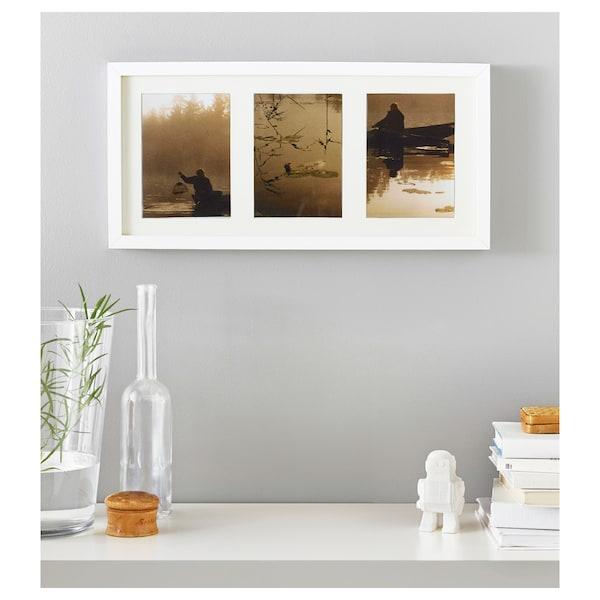 RIBBA Bingkai, putih, 50x23 cm