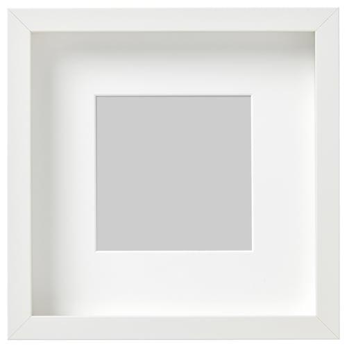 RIBBA bingkai putih 23 cm 23 cm 13 cm 13 cm 12 cm 12 cm 4.5 cm 25 cm 25 cm