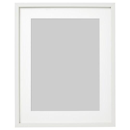 RIBBA bingkai putih 40 cm 50 cm 30 cm 40 cm 29 cm 39 cm 42 cm 52 cm