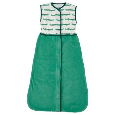 RÖRANDE Beg tidur, buaya/hijau, 84 cm