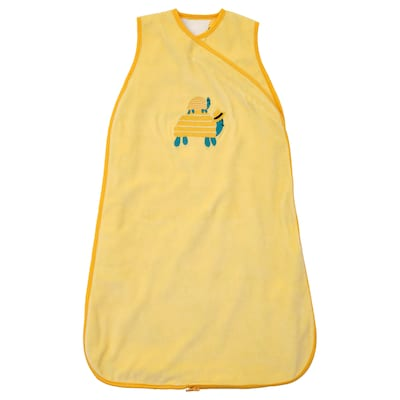 RÖRANDE Beg tidur, penyu/kuning, 72 cm