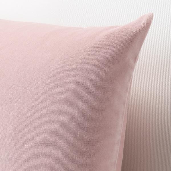 SANELA sarung kusyen merah jambu lembut 40 cm 65 cm