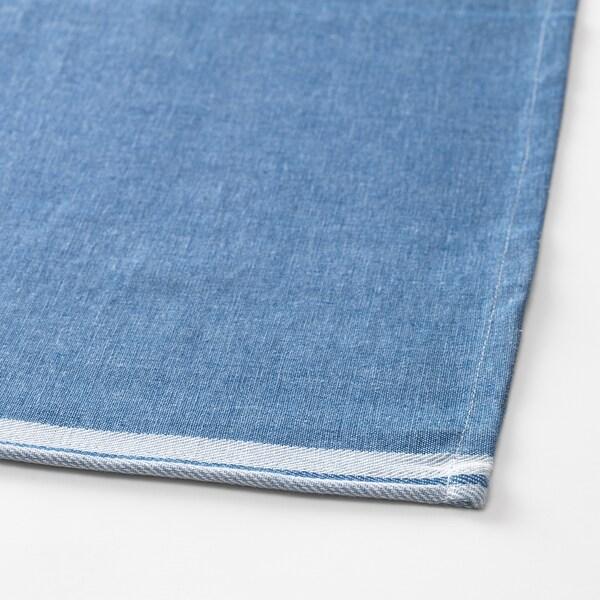 SEVÄRD Alas meja, biru gelap, 145x240 cm