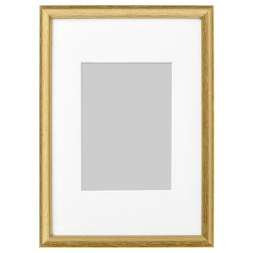 SILVERHÖJDEN bingkai warna emas 21 cm 30 cm 13 cm 18 cm 12 cm 17 cm 23 cm 33 cm