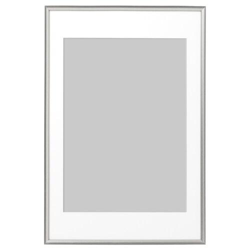 SILVERHÖJDEN bingkai warna perak 61 cm 91 cm 50 cm 70 cm 49 cm 69 cm 64 cm 94 cm