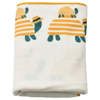 SKÖTSAM Sarung tikar penjagaan bayi, penyu, 83x55 cm
