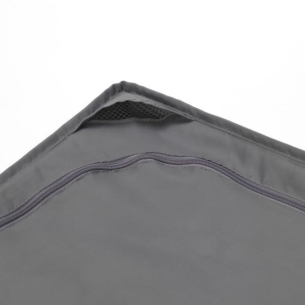 SKUBB Bekas storan, kelabu gelap, 69x55x19 cm