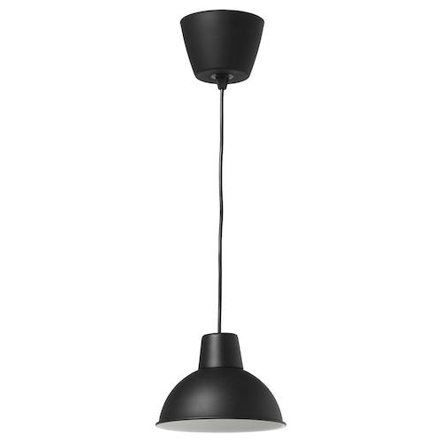 SKURUP lampu pendan hitam 8.5 W 14.5 cm 19 cm 1.3 m