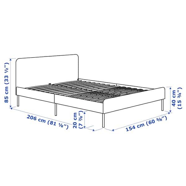 SLATTUM Rangka katil upholsteri