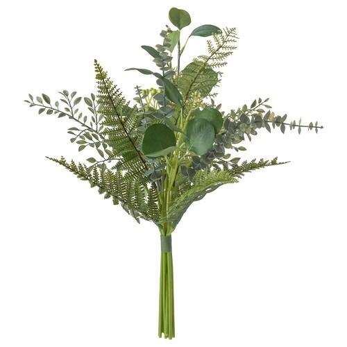 SMYCKA bouquet tiruan dalam/luar  hijau 50 cm
