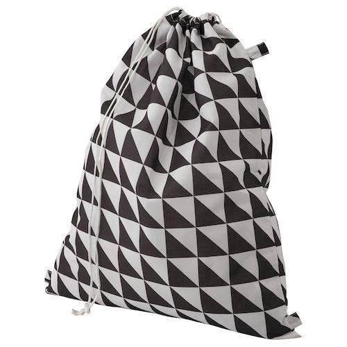 SNAJDA bekas kain kotor  hitam/putih 60 l