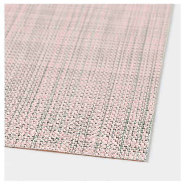 SNOBBIG Alas pinggan, merah jambu lembut, 45x33 cm