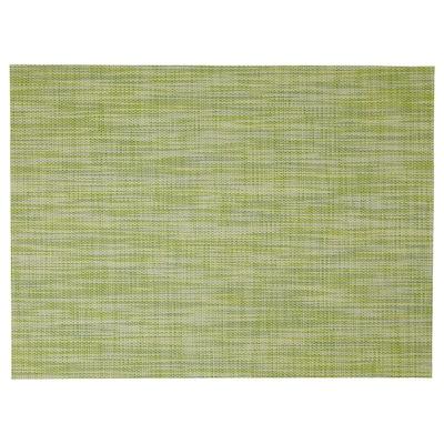 SNOBBIG Lapik pinggan, hijau, 45x33 cm