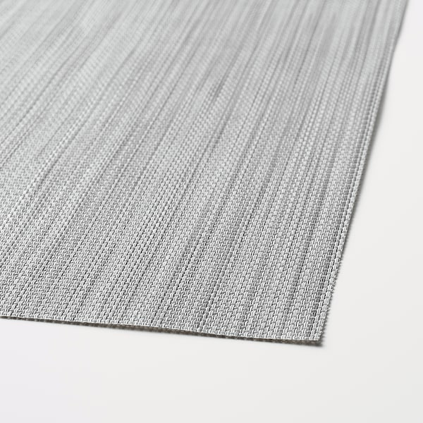 SNOBBIG Lapik pinggan, kelabu muda, 45x33 cm