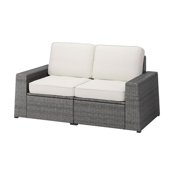 SOLLERÖN Sofa modular 2 tempat duduk, luar