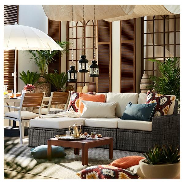 SOLLERÖN Sofa modular 3 tempat duduk, luar