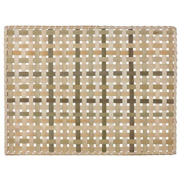 SOMMARDRÖM Lapik pinggan, buluh, 40x30 cm