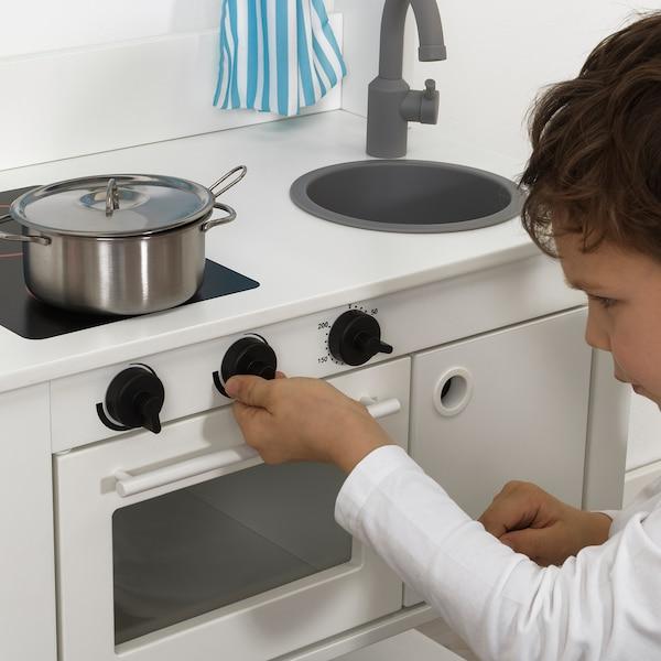 SPISIG Dapur mainan dengan langsir, 55x37x98 cm