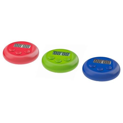STÄM pemasa digital merah/hijau/biru 2 cm 8 cm