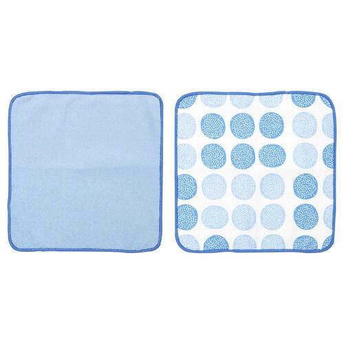 STEKNING kain lap pinggan biru 26 cm 26 cm 2 unit