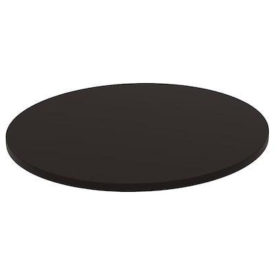 STENSELE Bahagian atas meja, antrasit, 70 cm