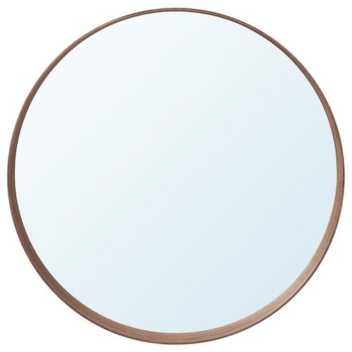 STOCKHOLM cermin venir kayu walnut 10 cm 80 cm