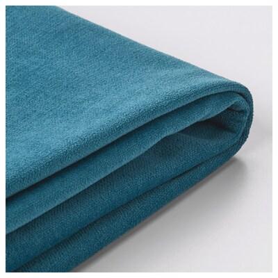 STOCKSUND Sarung sofa 3 tempat duduk, Ljungen biru