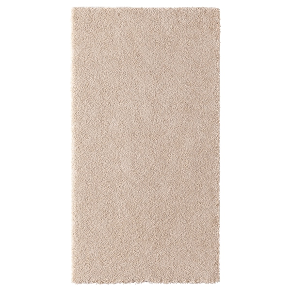 STOENSE Ambal, pail rendah, putih pudar, 80x150 cm