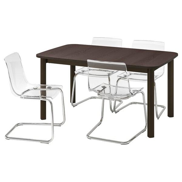 STRANDTORP / TOBIAS Meja dan 4 kerusi