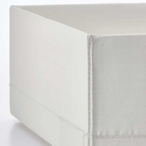 STUK Kotak berkompartmen, putih, 20x34x10 cm