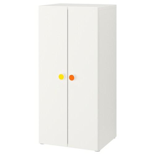 STUVA / FÖLJA almari pakaian putih 60 cm 50 cm 128 cm