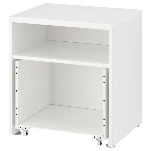 STUVA rangka dengan kotak beroda putih 60 cm 50 cm 64 cm