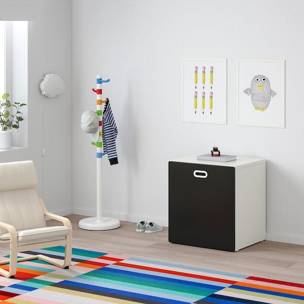 STUVA / FRITIDS Storan mainan dengan roda