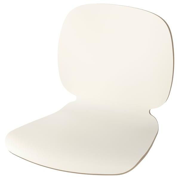 SVENBERTIL Cengkerang tempat duduk, putih