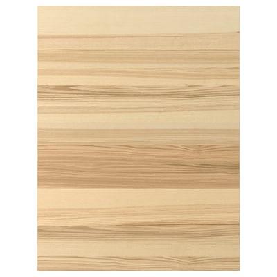 TORHAMN Sarung panel, semula jadi ash, 61x80 cm