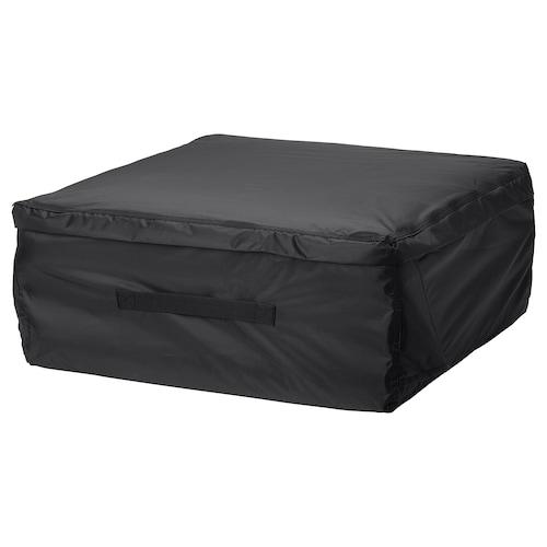 TOSTERÖ beg menyimpan untuk kusyen hitam 62 cm 62 cm 25 cm