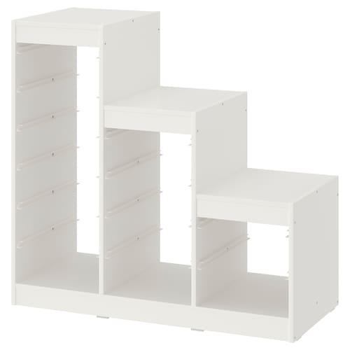TROFAST rangka putih 99 cm 44 cm 95 cm