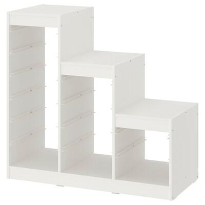 TROFAST Rangka, putih, 99x44x95 cm