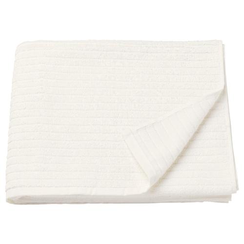 VÅGSJÖN tuala mandi putih 140 cm 70 cm 0.98 m² 400 g/m²
