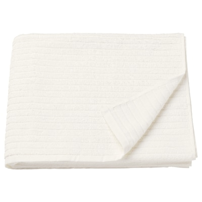 VÅGSJÖN Tuala mandi, putih, 70x140 cm