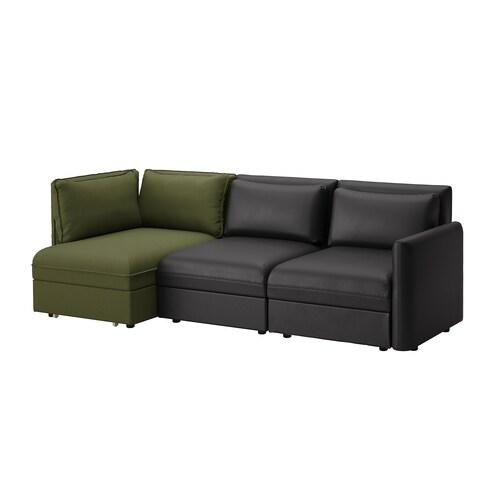 VALLENTUNA sofa modular 3 tempat duduk