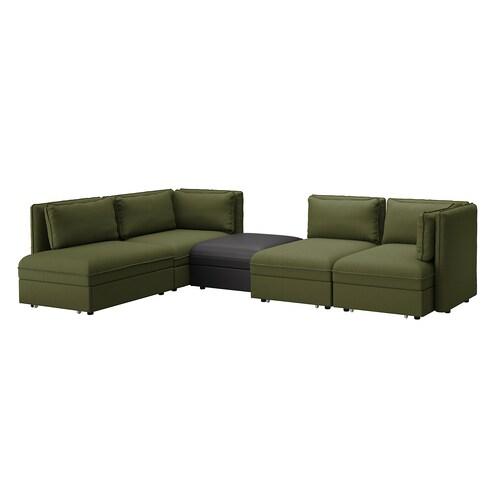 VALLENTUNA sofa modular 4 tempat duduk