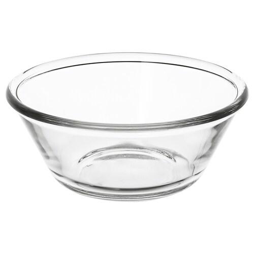 VARDAGEN mangkuk kaca jernih 6 cm 15 cm