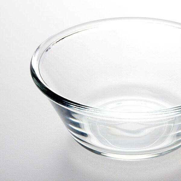 VARDAGEN Mangkuk, kaca jernih, 15 cm