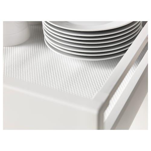 VARIERA alas laci putih 150 cm 50 cm 7500 cm²