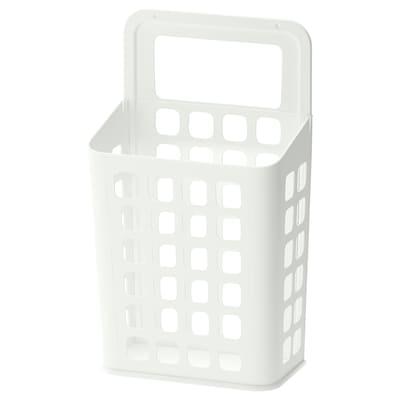 VARIERA Tong sampah, putih, 10 l