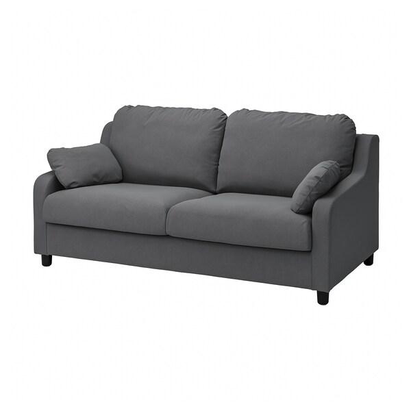 VINLIDEN Sarung sofa 3 tempat duduk