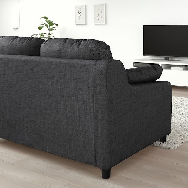 VINLIDEN Sofa 3 tempat duduk + chaise longue